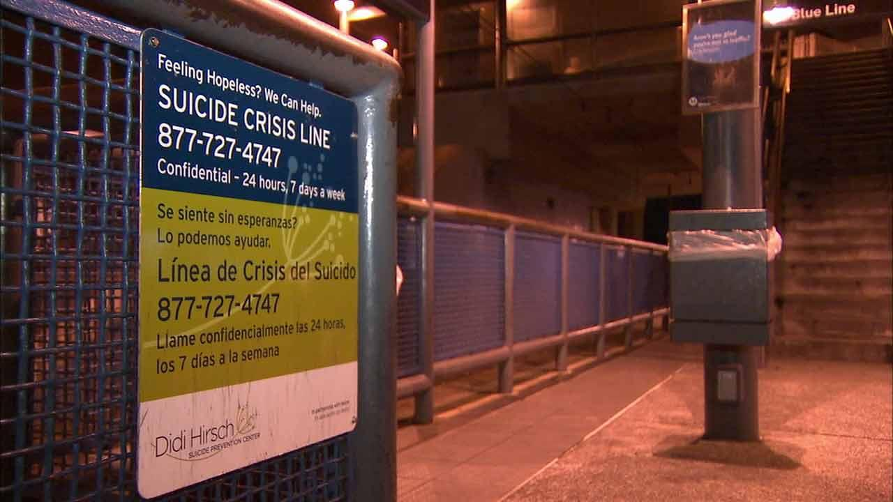 The Los Angeles County Metropolitan Transportation Authority is making a rare appeal for the publics help to stop the increase of suicides on Blue Line rail tracks.