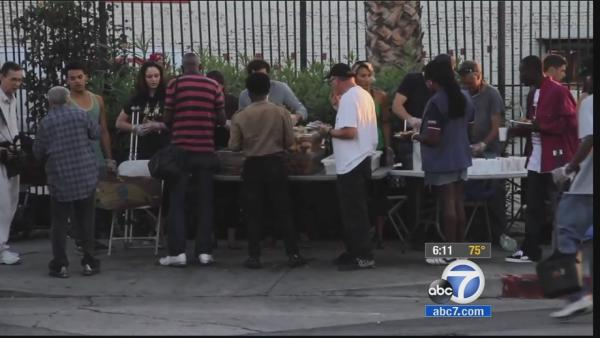 Controversy over Hollywood food kitchen