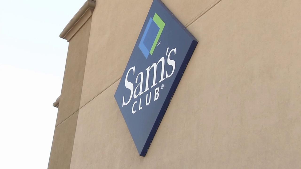 A sign for the Sams Club store in the 1300 block of South Lone Hill Avenue in Glendora is seen on Sunday, Oct. 20, 2013.