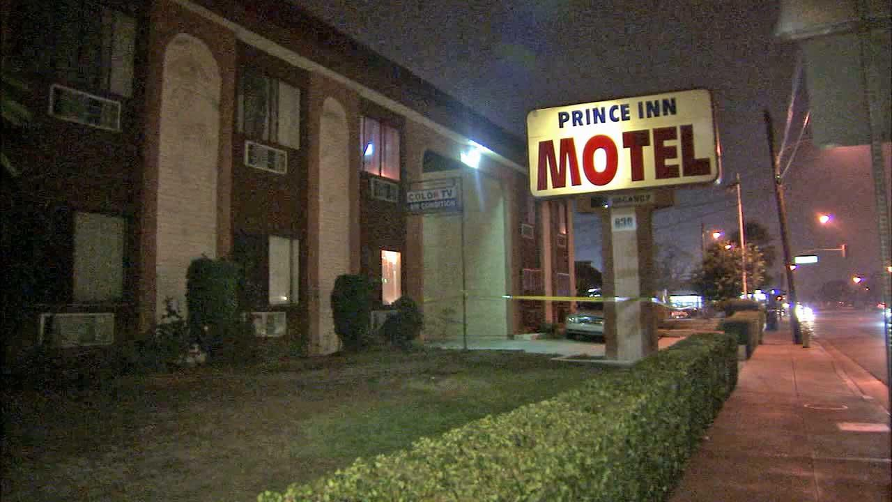 A body was found at the Prince Inn Motel in the 800 block of Puente Avenue in La Puente on Sunday, Oct. 27, 2013.