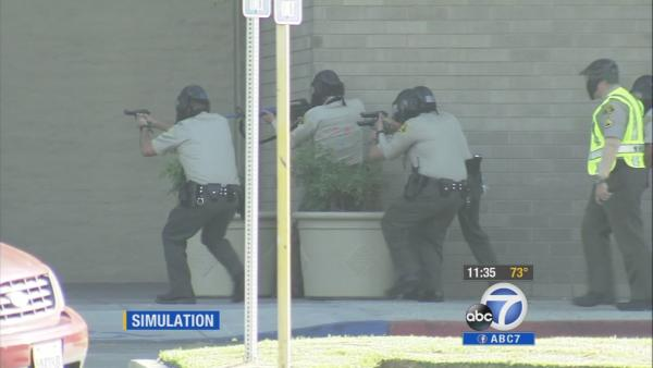 Active-shooter drill held at Los Cerritos Center