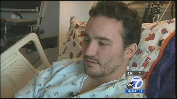 Injured teacher talks encounter w/ LAX gunman