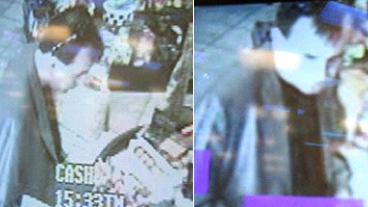 The California Lottery released these surveillance images of the person who bought the winning Powerball ticket.