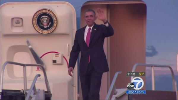 Obama LA visit: Traffic backups possible