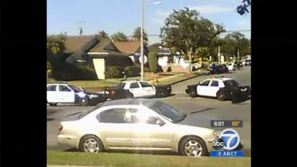 Inglewood shooting caught on cam by neighbors