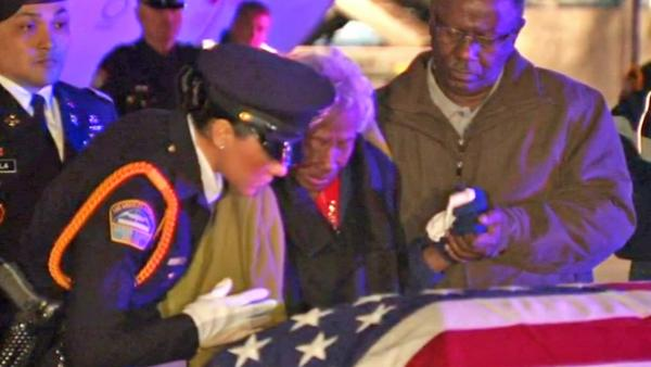 Korean War veteran's remains back home in LA