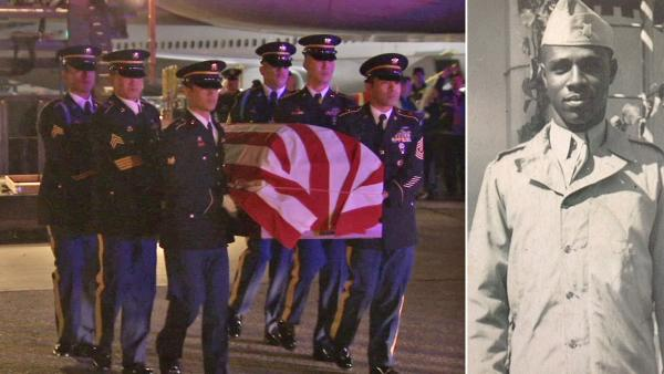 Korean War hero's remains back home in SoCal