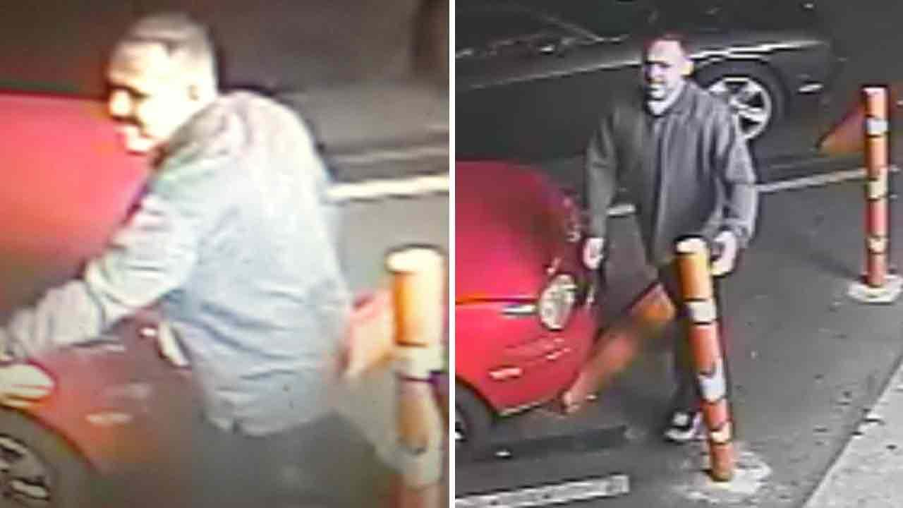 Culver City police have released surveillance photos of a man wanted in connection to a stabbing in the parking lot of Tattle Tale Bar on the 5400 block of Sepulveda Boulevard on Saturday, Dec. 21, 2013.