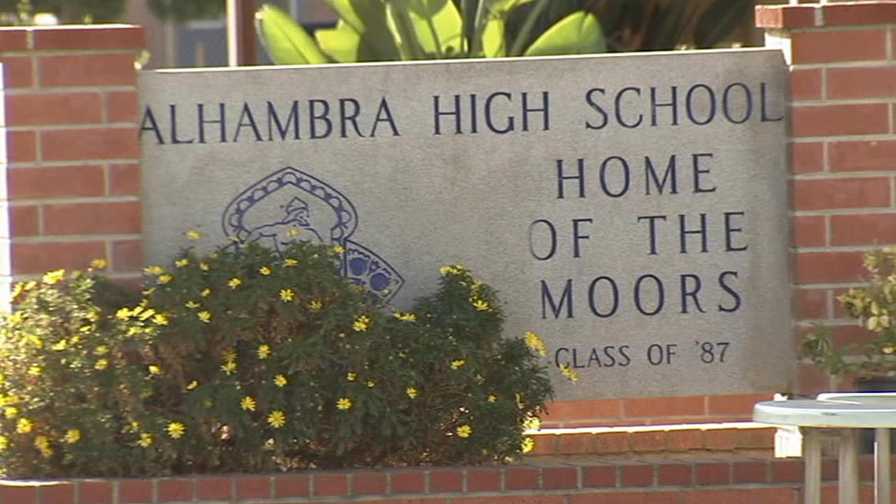 Alhambra High School is shown in this undated file photo.