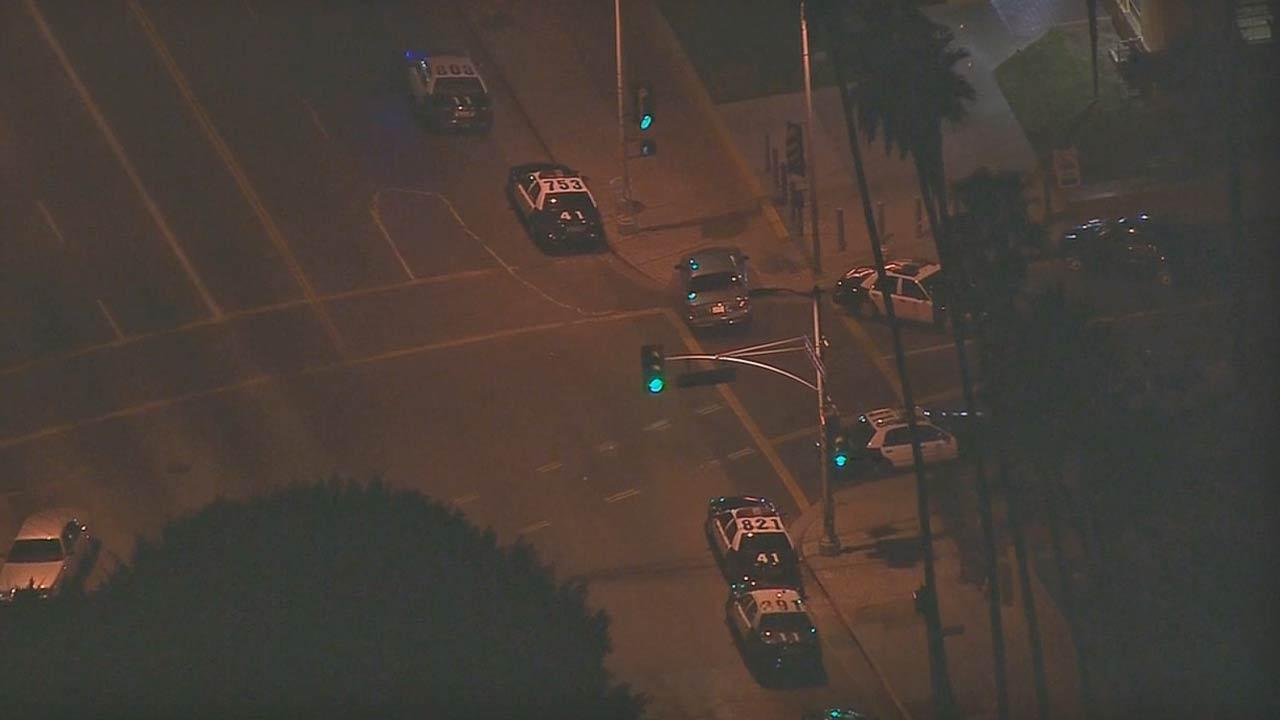 The Los Angeles Police Department went on tactical alert Friday night after two plainclothes officers were fired upon in Lincoln Heights.
