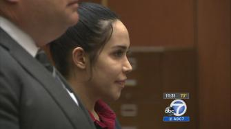 Octomom Nadya Suleman appears in a Los Angeles courtroom on Tuesday, March 11, 2014.