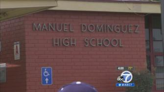 Manuel Dominguez High School in Compton is seen on Tuesday, March 11, 2014.