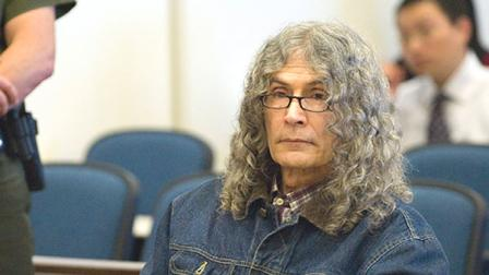 Serial killer Rodney Alcala sits quietly after hearing the death sentence pronounced by Judge Francisco Briseno in a Santa Ana, Calif. courtroom, March 30, 2010.
