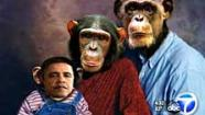 An Orange County GOP party official is under fire for sending an email with a picture of President Obama as an ape.