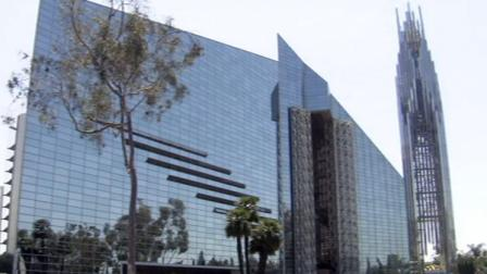 Crystal Cathedral, located in Garden Grove, Calif., is millions of dollars in debt.