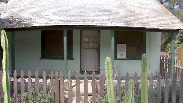 The Montanez Adobe is believed to be one of the original 40 adobes constructed by mission Indians in 1794.