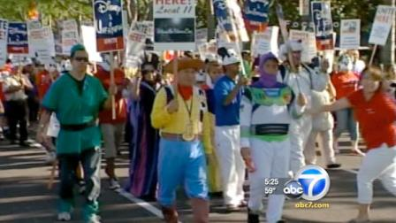 The Walt Disney Company and the union representing hundreds of hotel workers at the Disneyland Resort in Anaheim have come to a five-year agreement.