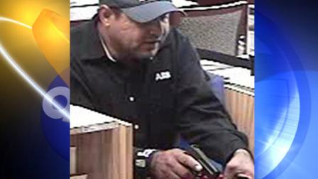 The Wrong Way Bandit robbed a credit union in Costa Mesa Friday, his sixth bank robbery since August.