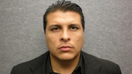 Shazer Fernando Limas, 31, was booked at the Orange County Jail for murder on Thursday, May 3, 2012.