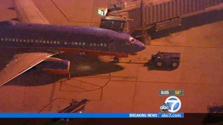 A Southwest Airlines plane is shown in this undated file photo.