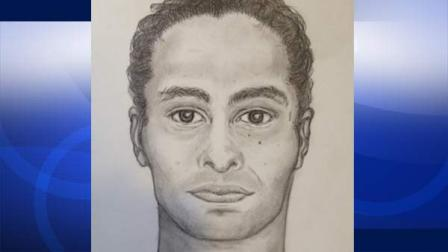 Orange County officials released this sketch of a man found floating at Bolsa Chica State Beach.