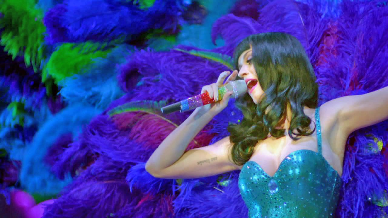 Katy Perry is seen in a still from her film, Katy Perry: Part of Me.