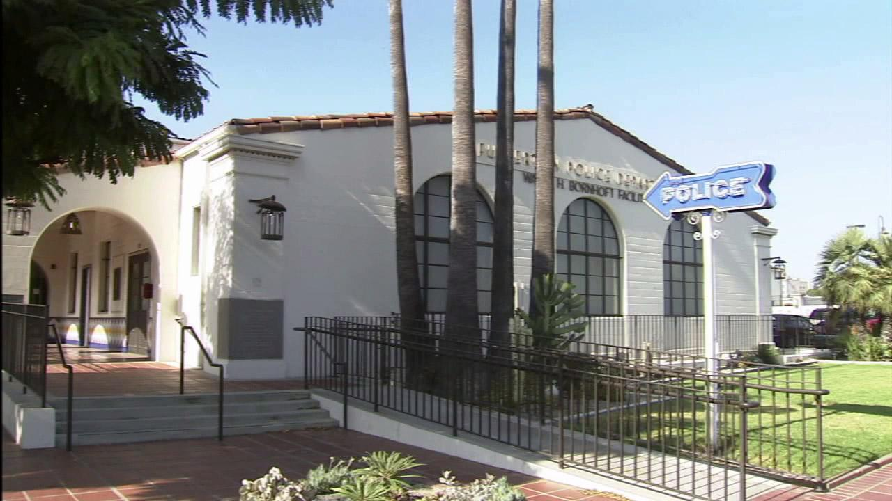 The Fullerton Police Department headquarters is seen in this undated file photo.