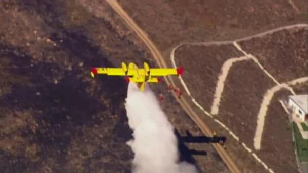 CA firefighters split on study of aircraft use