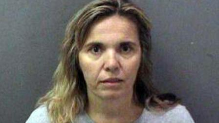 Kathia Davis, 45, is seen in this undated file photo. Davis is accused of sexually assaulting two members of her sons hockey team.