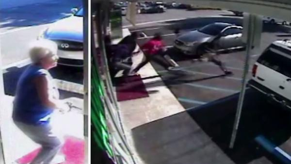 Robbers narrowly escape store owner's gunfire