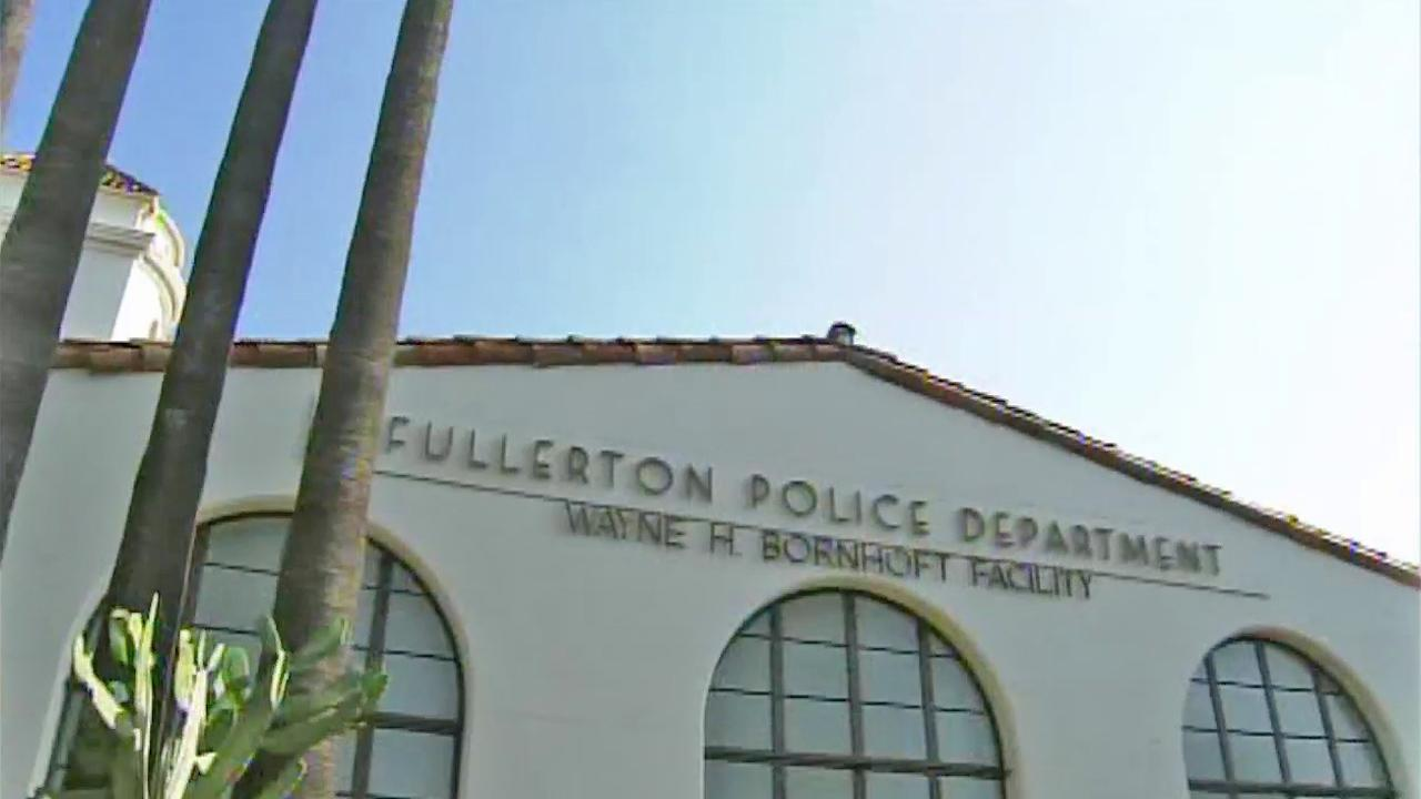 The Fullerton Police Department is seen in this undated file photo.