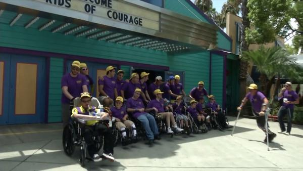 'Kids of Courage' spend fun day at Knott's