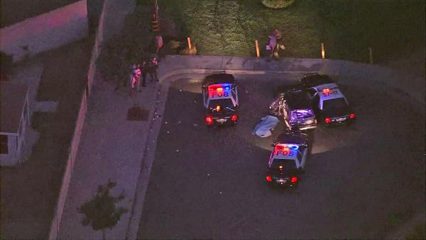 Fullerton pursuit ends in death of suspect