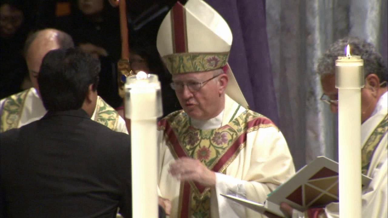 Bishop Kevin Vann was formally installed as the fourth bishop of Orange Monday, Dec. 10, 2012.
