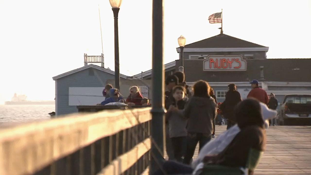 Rubys Diner on the Seal Beach Pier on Saturday, Jan. 5, 2012.