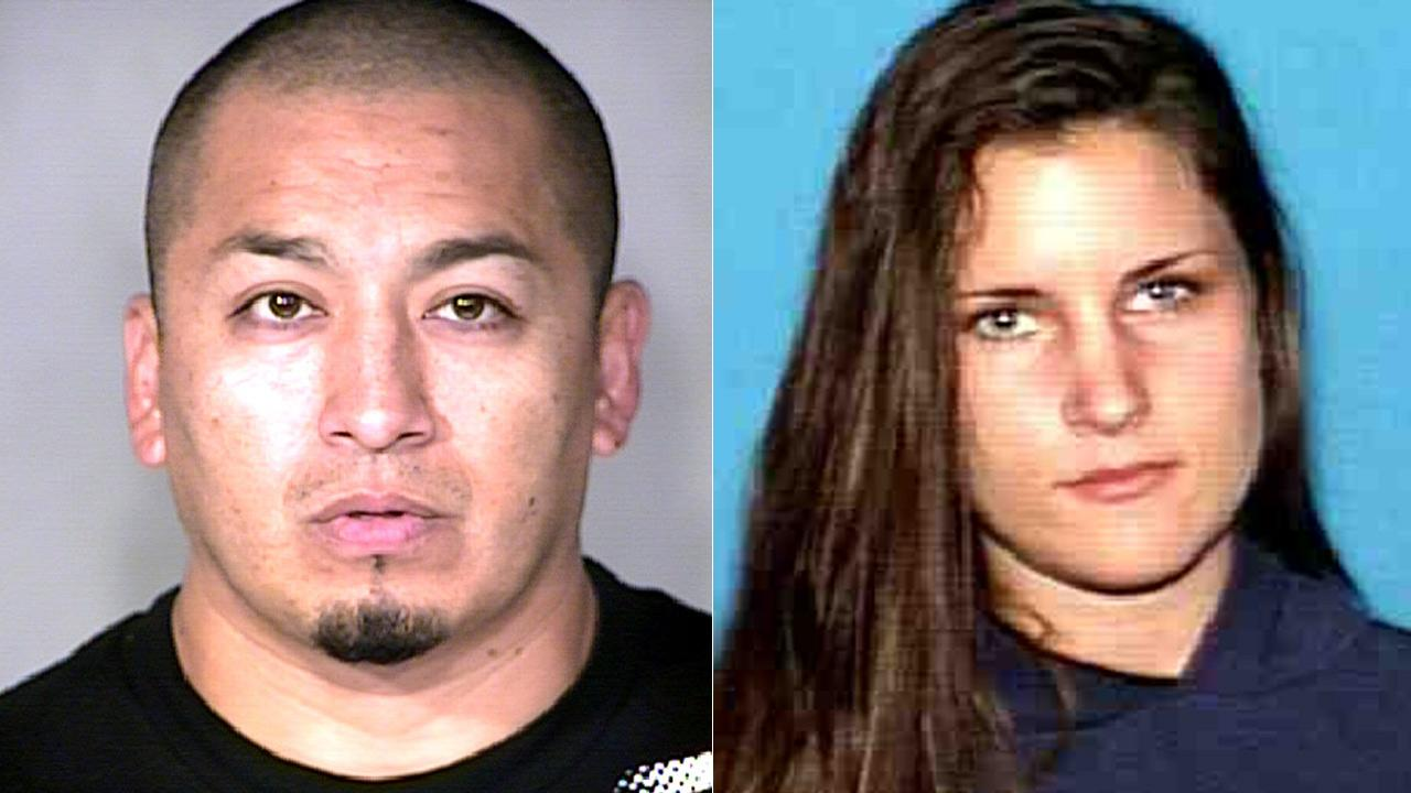 Julio Pachas and his girlfriend, Michella Fuquay, were arrested in connection to vehicle burglaries in Orange and Los Angeles counties.
