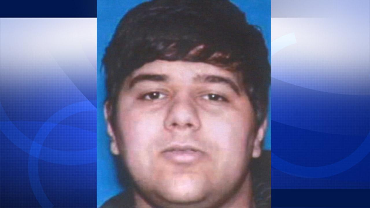 Undated file photo of Ali Syed, 20, of Ladera Ranch. Syed is suspected of killing three people and injuring several others during a shooting spree in multiple places in Orange County on Tuesday, Feb. 19, 2013.