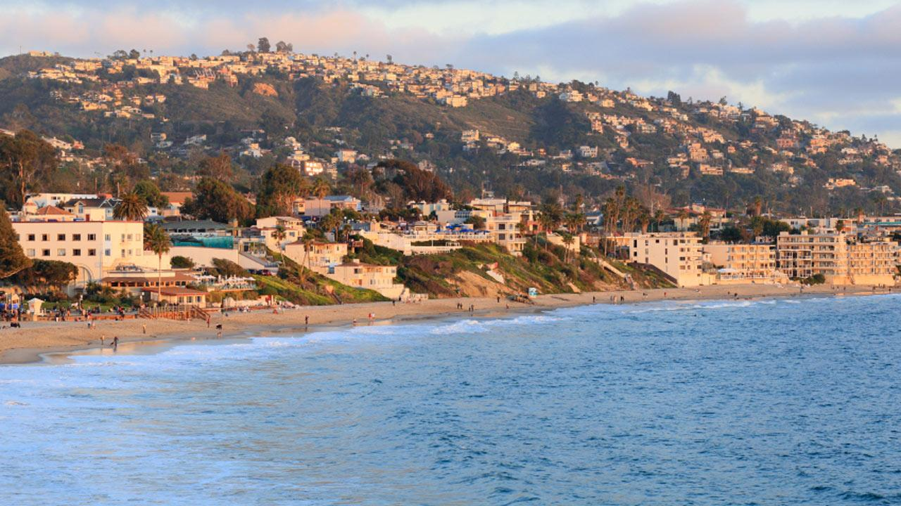 Laguna Beach is seen in this undated file photo.