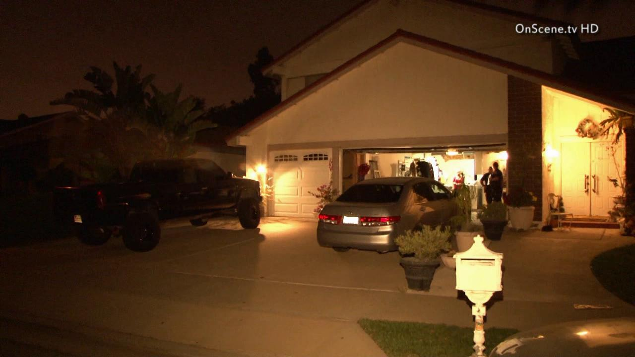 Police say two suspects stole a womans car after she invited them into her home on the 300 block of South Jennifer Lane in Orange on Monday, June 3, 2013.
