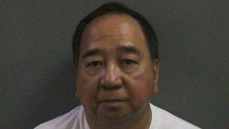 Robert Ligayo of Aliso Viejo is seen in this booking photo provided by the Orange County Sheriffs Department on Monday, June 17, 2013.