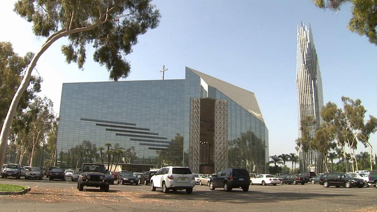 The former Crystal Cathedral, now named the Christ Cathedral, is seen in this undated file photo.
