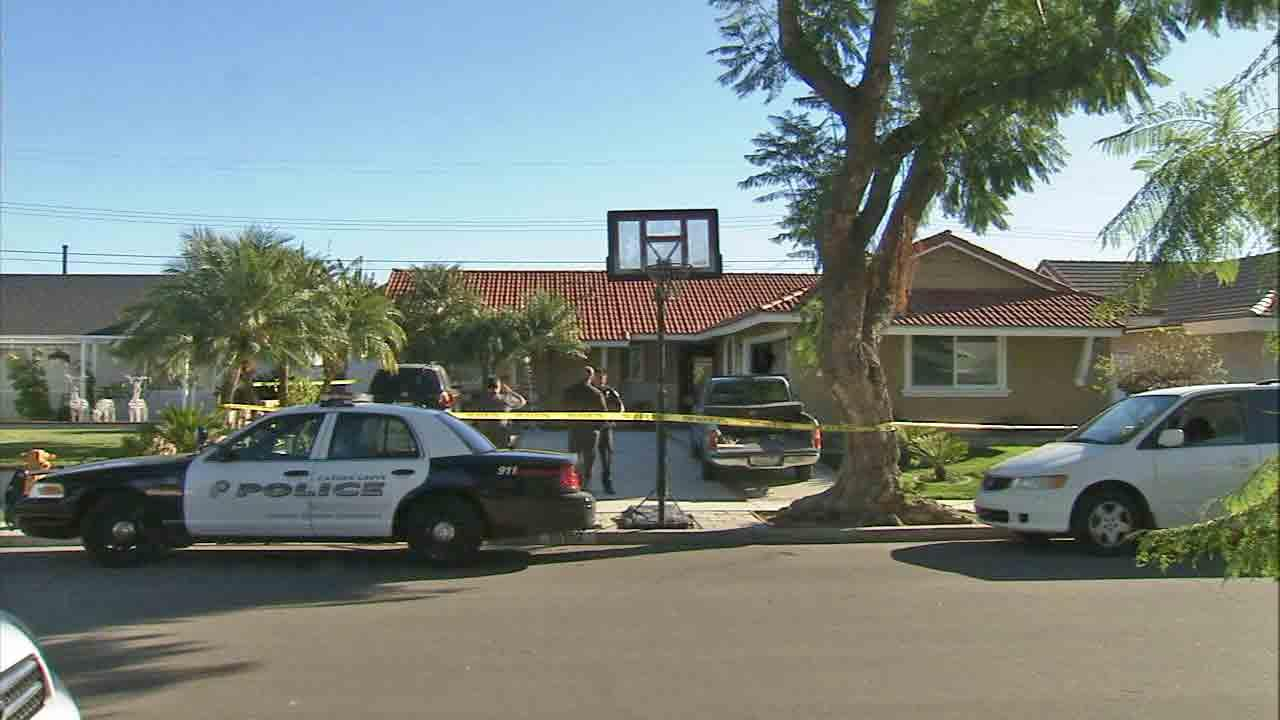 Murder Suicide Suspected In Garden Grove Shooting