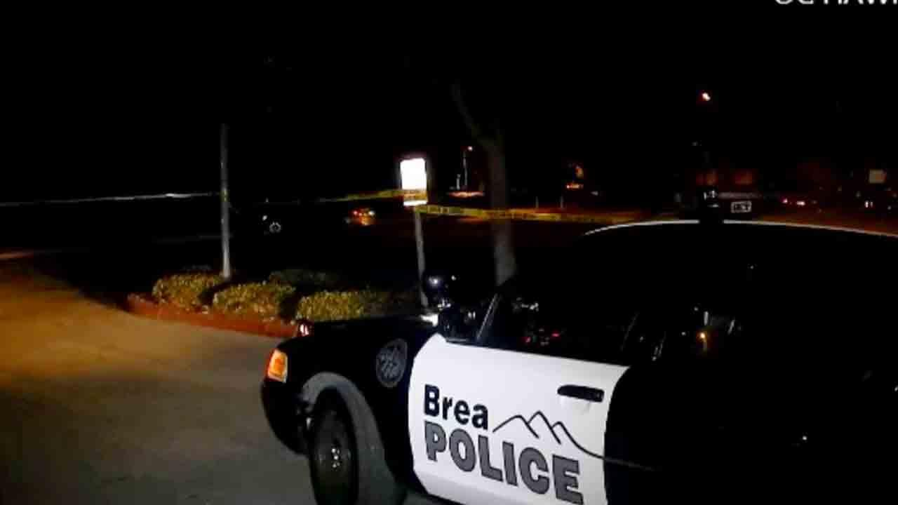 An investigation is underway at Brea Arovista Park near Imperial Highway and Berry Street in Brea after a 23-year-old man was stabbed Saturday, Dec. 28, 2013.