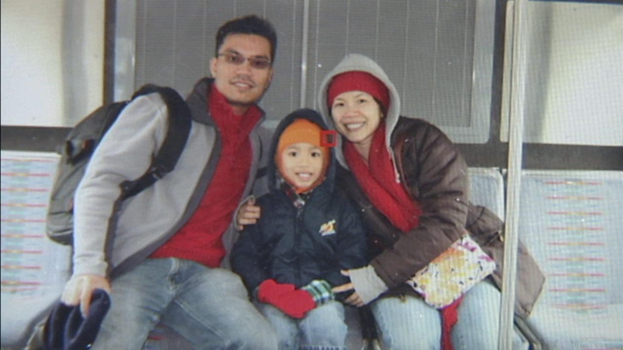 This photo of a family was recovered on a stolen camera in Orange County.