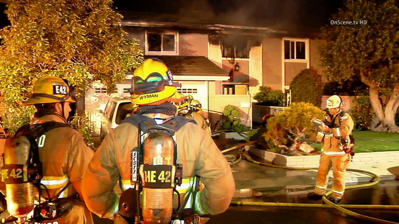 House Fire Rescue Rescues 2 From House Fire