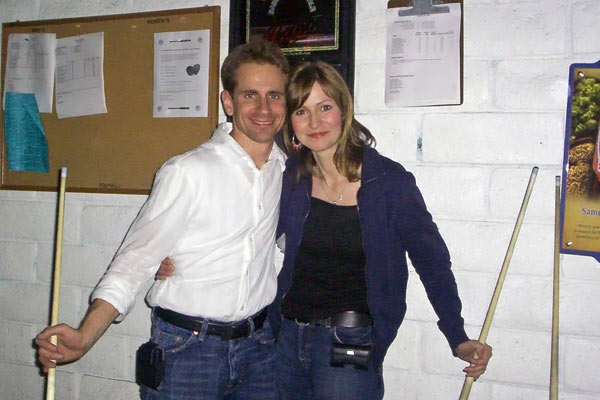 Tanja left Scientology for good in August of 2006.  Since then, she and Stefan have begun their own business &#40;Pictured here in 2006&#41;. <span class=meta>(Photo&#47;KABC Photo)</span>