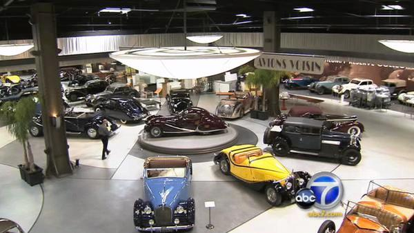 Classic car museums are very popular in Southern California.  The new Mullin Automotive Museum in Oxnard gives enthusiasts a closer look at some cars rarely seen on the American road.