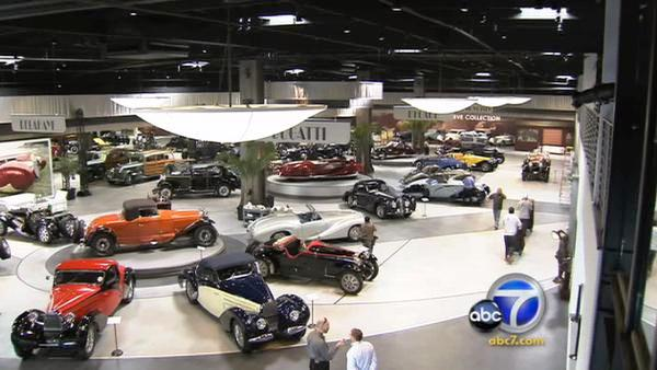 The nearly 50,000-square-foot museum exhibits more than 100 historic French and European vehicles, including some of the rarest Bugattis in the world, and showcases some of the finest art and furniture from the Art Deco movement.