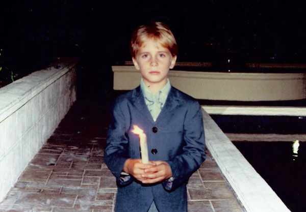 "<div class=""meta ""><span class=""caption-text "">Stefan Castle was also born into Scientology and says he joined the 'Sea Org' when he was 12 years old (Pictured here in 1977 in Washington D.C.). (Photo/KABC Photo)</span></div>"