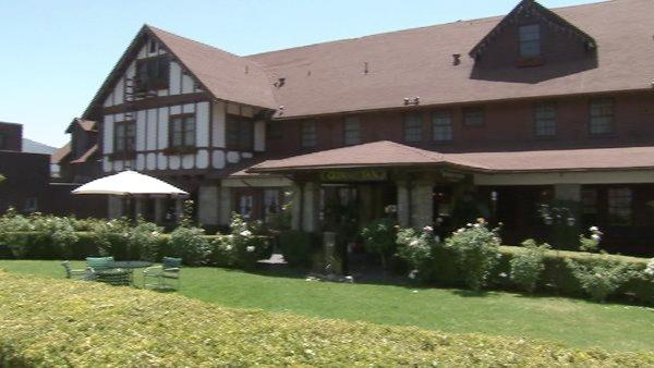 The Inn was built in 1911, when Santa Paula was a booming oil town, and is now a federal landmark.